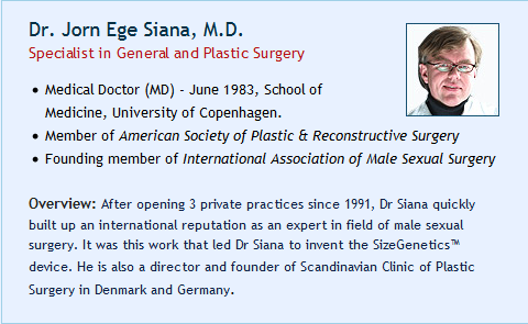 Dr. Jorn Ege Siana, M.D.